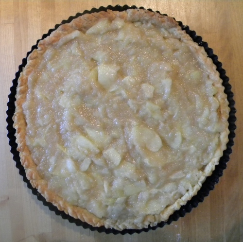French Apple Tart 012