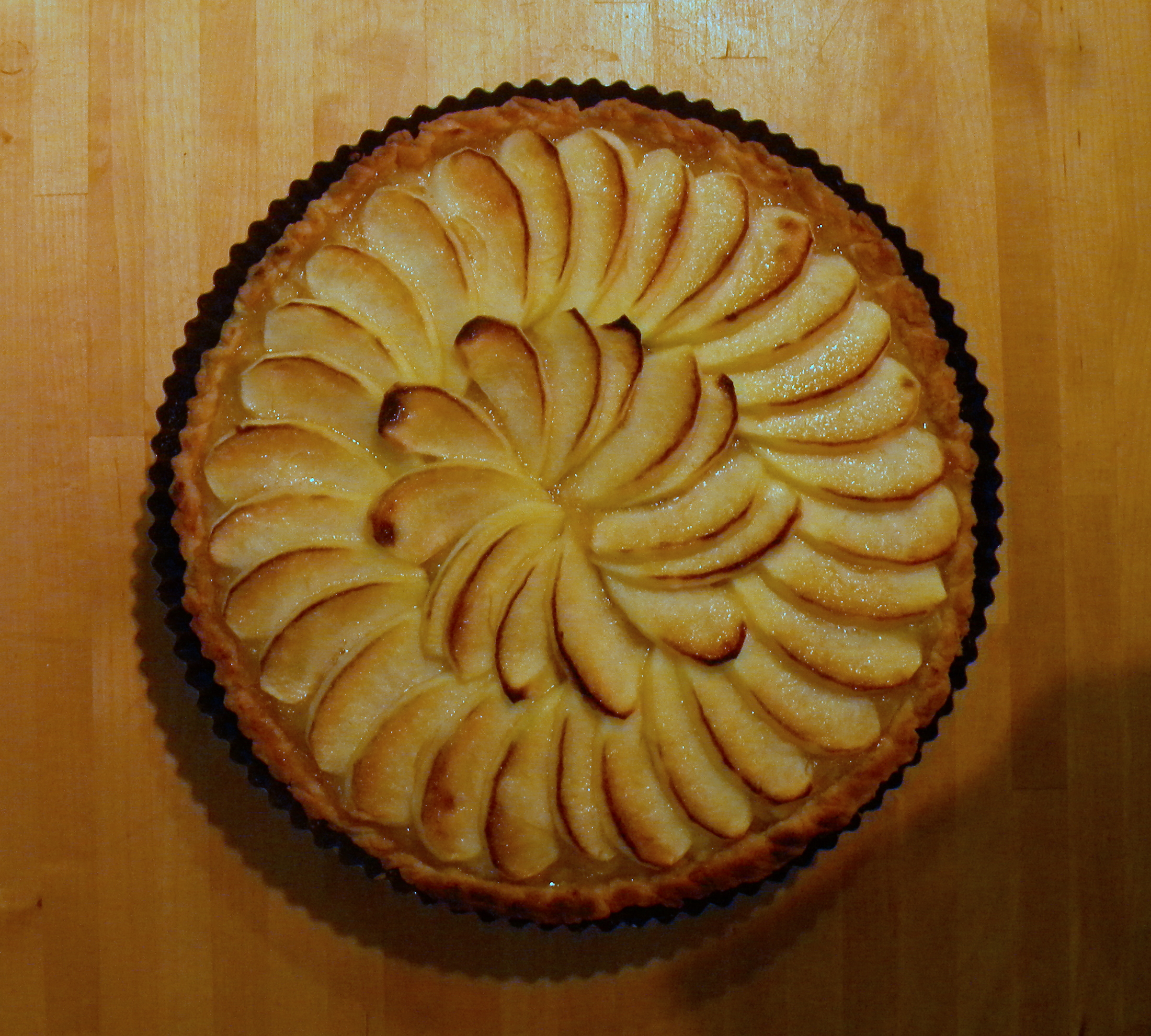 French Apple Tart | galettista