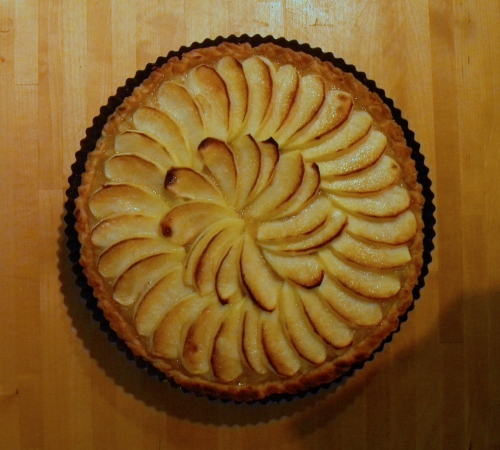 French Apple Tart 017