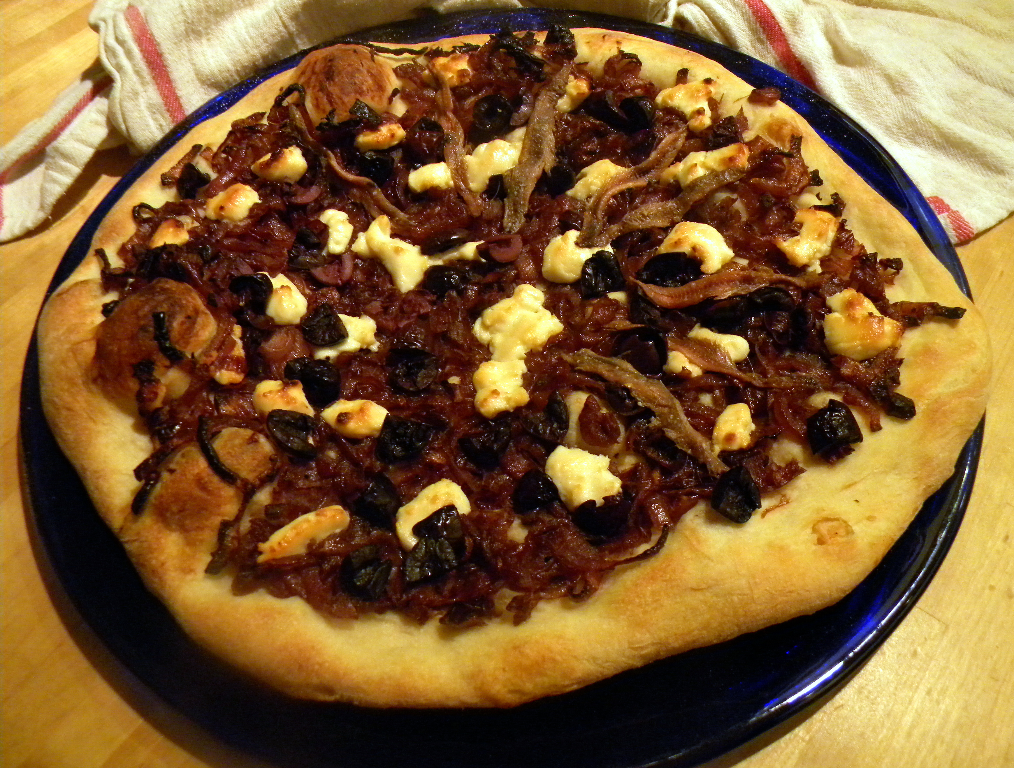 Pizza with Onion Confit | galettista