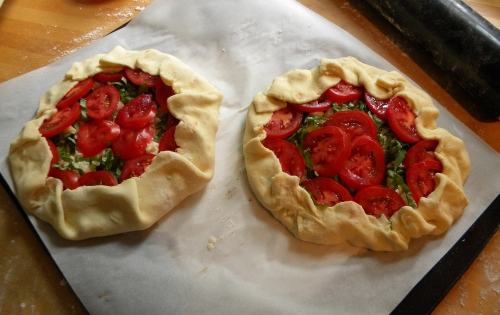 Tomato and Cheese Galette 010
