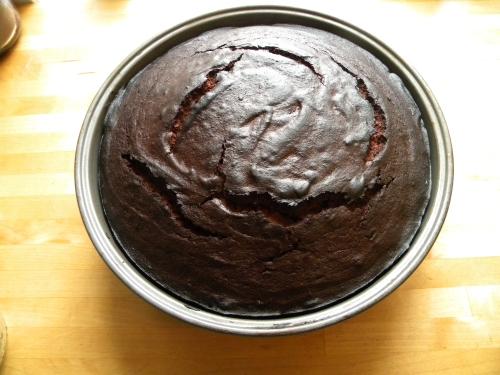Mocha Brownie Cake 008